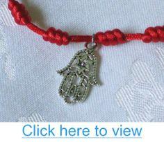 Red String Hamsa Pendant Bracelet Kaballah Kabbalah Star o David Good Luck Madonna #Red #String #Hamsa #Pendant #Bracelet #Kaballah #Kabbalah #Star #o #David #Good #Luck #Madonna