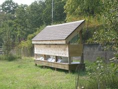 They even have bee hives for honey and to help pollinate plants. Bee Hive Stand, Honey Bee Hives, Honey Bees, Raising Bees, Bee House, Tiny House, Bee Skep, Bee Pollen, Hobby Farms