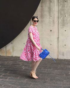 flowy florals. Valerie Dittner of Adorn Yourself Accordingly Maternity Look