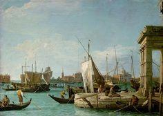 Die Dogana in Venedig | Antonio Canal, gen. Canaletto | um 1724/30 | Inv. Nr.: GG_6331