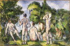 Group of Bathers, 1895   Cézanne