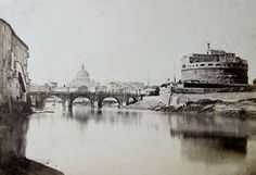 Rome, Castel S.Angelo and Tiber n.d.