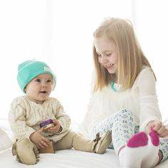 Dying over this picture of HUSH Baby Indie & Teagan || shophushbaby.com