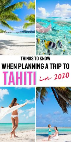 Do you need a vacation? Tahiti has reopened its borders to international tourists! Learn why travel to Tahiti in 2020 - great travel tips on vacation planning to Tahiti, vacation ideas for honeymoon destinations #traveldream #beautifulvacations #traveltogether Beautiful Vacation Spots, Beautiful Places To Travel, Cool Places To Visit, Best Tropical Vacations, Romantic Vacations, Romantic Travel, Best Island Vacation, Italy Vacation, Tahiti Resorts