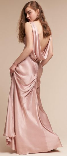 Pink Satin with a ch