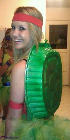 Homemade Ninja Turtle Costume Idea