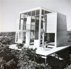 Andrew Geller Frank House Fire Island Pines 1958