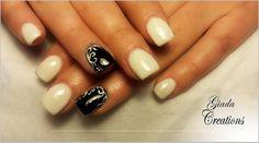 Total White... Ricostruzione unghie gel ;)