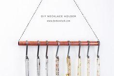 20 DIY Jewelry Holders