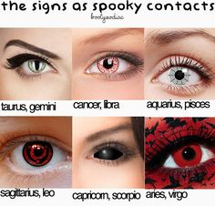 Hey, I have sharingan, that's always cool (it's not really spooky, but it's cool) sternzeichen verseau vierge zodiaque Zodiac Signs Capricorn, Zodiac Sign Traits, Zodiac Star Signs, Zodiac Horoscope, My Zodiac Sign, Zodiac Facts, Zodiac Sign Fashion, Zodiac Funny, Capricorn Quotes