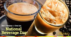 Hot and Steamy or Over Ice – Taste the Gold with ORGANO™'s Finest – It's National Beverage Day!