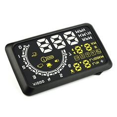 SODIALR W02 Multifunctional OBD II Vehicle Car HUD Head Up Display System SpeedingMPHKMH Rotation Speed Fuel Consumption Indicator Projected Display >>> Click image to review more details. (This is an affiliate link) #CarAlarmSystems