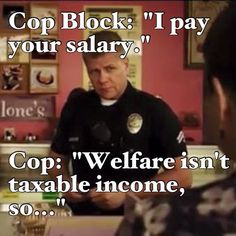 It's always funny watching cop blockers pretend they know their rights better than police/security officers do. Police Memes, Police Quotes, Funny Police, Funny Quotes, Funny Memes, Hilarious, Funny Laugh, Police Wife Life, Cop Wife