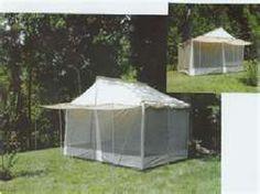 attractive screen tent Screen Tent, Screen House, Camper Caravan, Campers, Work Camp, Caravans, Camping Gear, Gazebo, Outdoor Structures