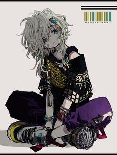 Cool Anime Guys, Cute Anime Pics, Cute Anime Boy, Anime Art Girl, Gothic Anime, Dibujos Cute, Estilo Anime, Dark Anime, Character Design Inspiration