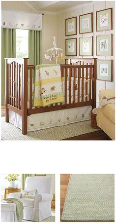 Neutral green nursery