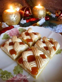 Hungarian Cuisine, Hungarian Recipes, Hungarian Cake, Little Kitchen, Desert Recipes, Waffles, Breakfast Recipes, Diy And Crafts, Deserts