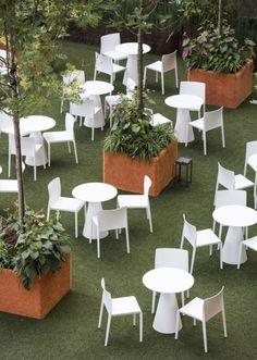 Table design extérieur intérieur - Sledge