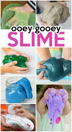 30 Ooey Gooey Slime Recipes