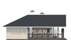 """🏠 """"Яркий мир"""" - одноэтажный дом с высокой гостиной и просторной террасой: цены, планировка, фото. Купить готовый проект House Plans, Floor Plans, Layout, Homes, House Design, How To Plan, Architecture, House Styles, Outdoor Decor"""