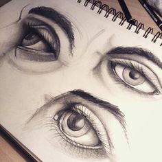 #sketch #eyes #bw