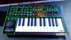 Gearjunkies.com: Roland AIRA Series: System-1 Synth Demonstration - Video