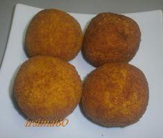 Rezept: Hauptgericht: Arancini alla siciliana – Gefüllte Reiskugeln