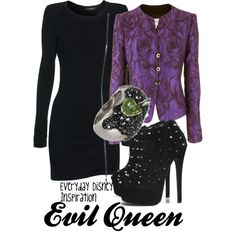 """""""Evil Queen from Snow White"""" by everydayinspiration1392 on Polyvore"""