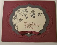 stampin up thoughts and prayers card ideas   Stamping With Tamie