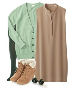 Teacher Outfits on a Teacher's Budget 142 by allij28 on Polyvore featuring Uniqlo, Mossimo Supply Co. and Charnos