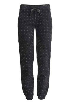 Pantaloni da pigiama in pile | H&M