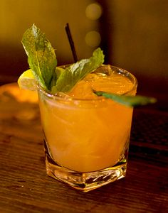 admiral schley punch black rum bourbon lime sugar mint serious eats ...