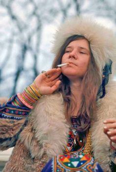 Janis wanted to be the best female blues singer ever.........