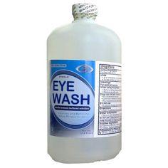 Emergency 8 oz Sterile Eye Wash And Skin Flush Bottle Natural Rose Hips Oil Enhanced Facial Organic Moisturizing Complex 30ml