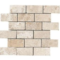 MARAZZI Montagna Lugano 12 in. x 12 in. Gray Porcelain Mesh-Mounted Mosaic Tile-UGA7 at The Home Depot