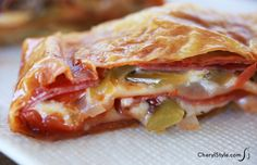 puff pastry pizza pockets