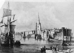 1760 Liverpool waterfront