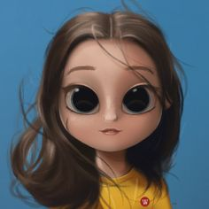 Super Ideas For Eye Painting People Cute Girl Drawing, Cartoon Girl Drawing, Cartoon Drawings, Cute Drawings, Cartoon Kunst, Cartoon Art, Joker Cartoon, Character Design Cartoon, Eye Painting