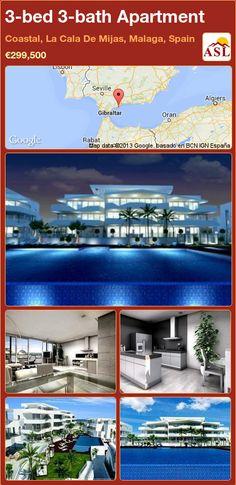 3-bed 3-bath Apartment in Coastal, La Cala De Mijas, Malaga, Spain ►€299,500 #PropertyForSaleInSpain