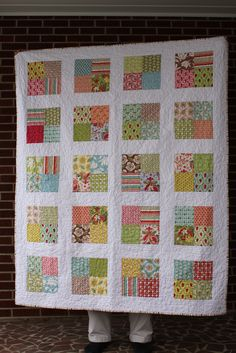 Mom's Quilt | Verna Charm Pack blogged at www.frecklemama.co… | Chris | Flickr