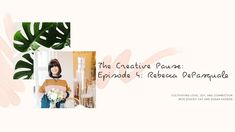 The Creative Pause is a video series hosted by Stacey Fay and Susan Padron. In a time of solitude and fear, we are cultivating joy, love and connection. Wine Tasting, Floral Arrangements, Spirit, Joy, Make It Yourself, Create, Youtube, Floral Swags, Flower Arrangement