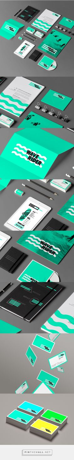 WAVERIDER Branding on Behance