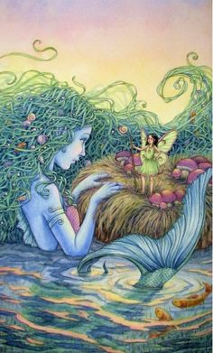 Mermaid and the fae......