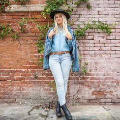 How To Wear Denim Like A California Girl | The Zoe Report