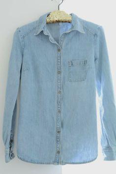 Chambray shirt | Paige Denim