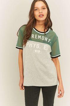 BDG Freemont Green Mesh T-shirt