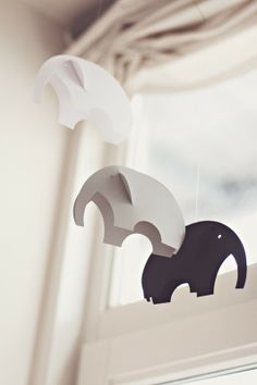 elephants, wish I knew who made these cuties...