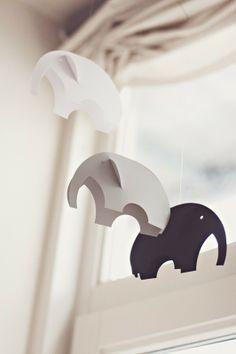 elephants, wish I knew who made these cuties...