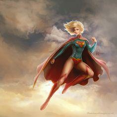 Beautiful Beautiful Beautiful Supergirl new 52 by Me-Illuminated on Deviant Art
