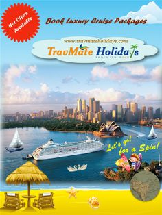 Book luxury cruise packages from TravMate Holidays,Kerala. Avail special offers.